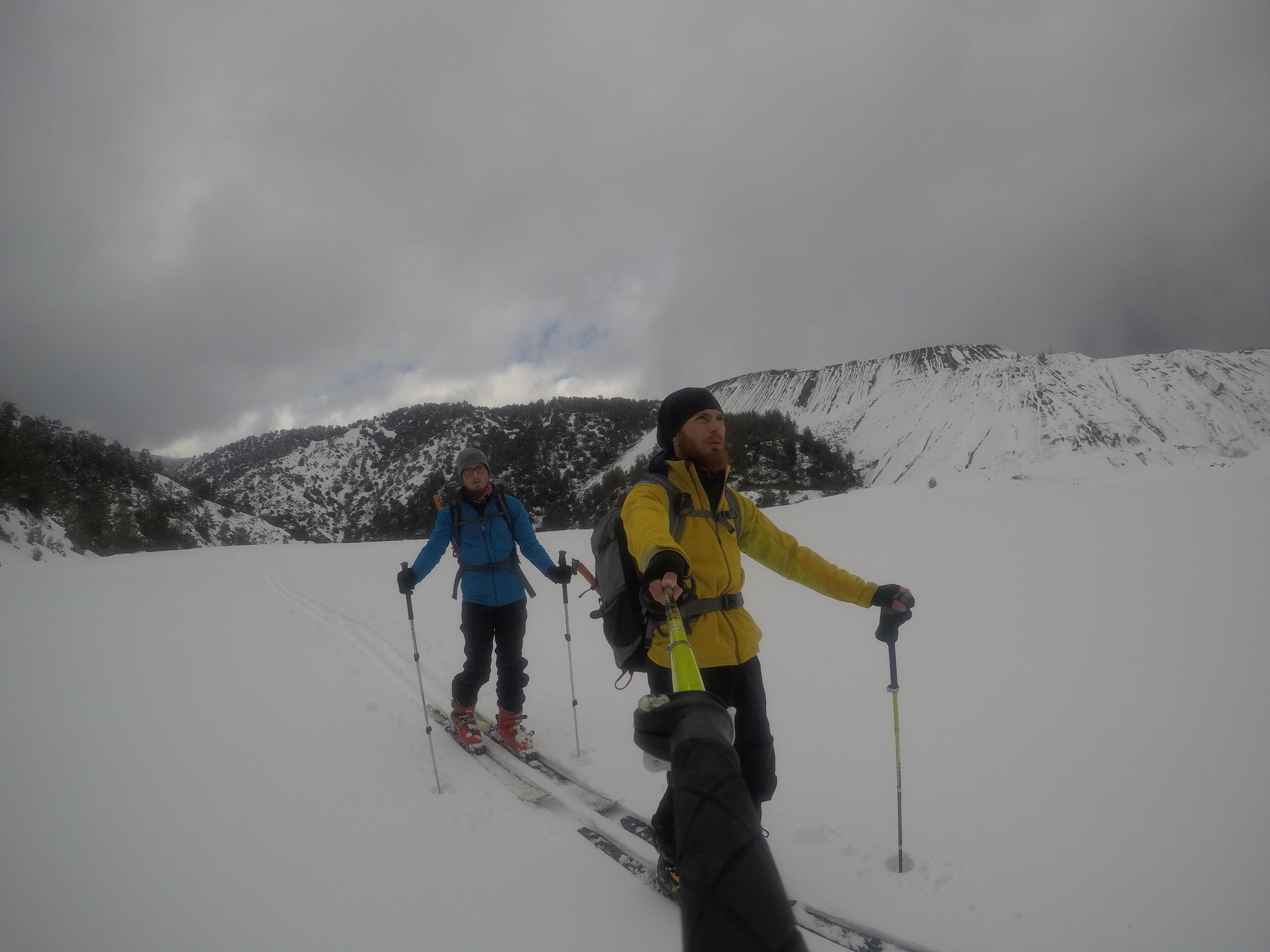 Loumata tous Aetous Ski Descent