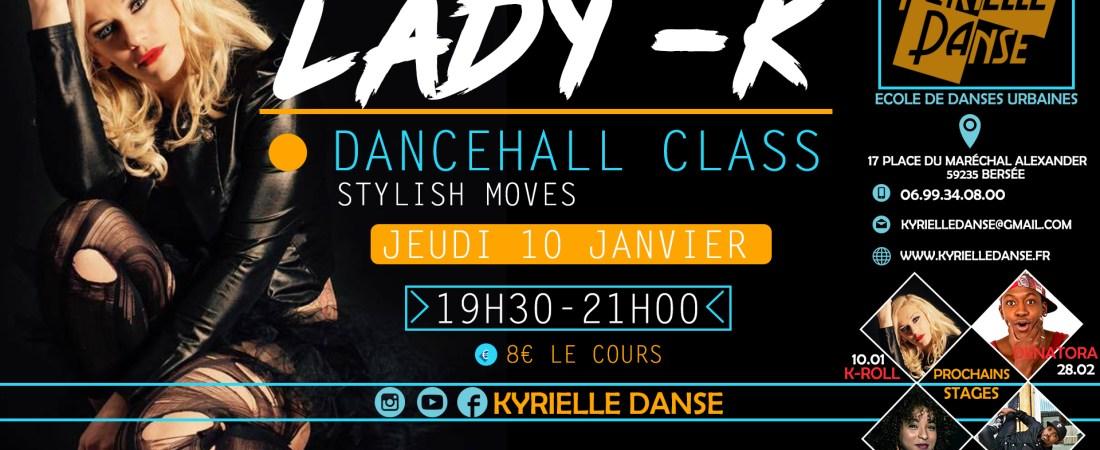 DANCEHALL CLASS AVEC DHQ LADY -K