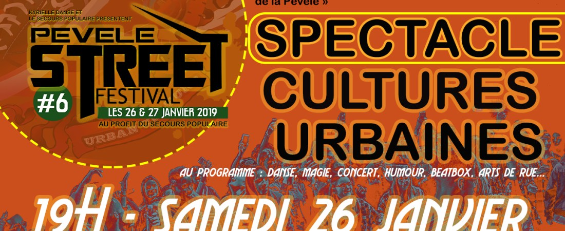 SPECTACLE CULTURES URBAINES | SAMEDI 26 /01/2019