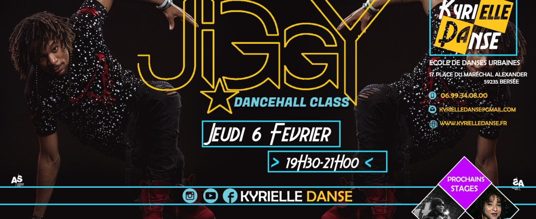 DANCEHALL CLASS AVEC JIGGY