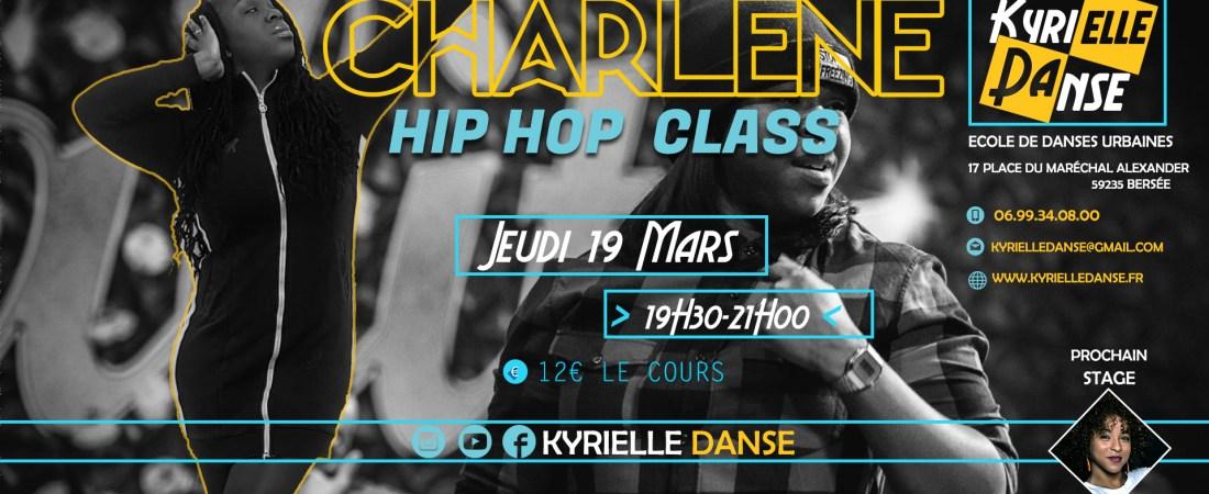 HIP HOP CLASS AVEC CHARLÈNE