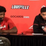 UofL MBB Darius Perry & Christen Cunningham on WIN vs Clemson