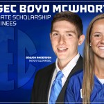 UK's Anderson, Reed Nominated for SEC's Boyd McWhorter Scholarship