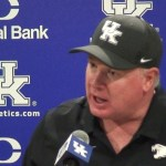 UK Wildcats Football Coach Stoops on Loss to Florida in Wk 3