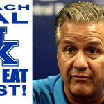 """Kentucky WILL EAT FIRST"" Coach Cal comments on Paying Players"