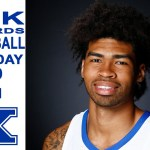 UK Wildcats Basketball Nick Richards 2019 Media Day