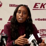 EKU Womens Basketball Coach Samantha Williams – Media Day 2019