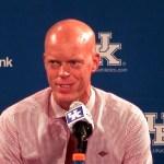 EKU Basketball Coach AW Hamilton Postgame vs Kentucky
