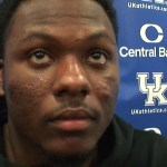 Kentucky Football LB DeAndre Square on 45-13 WIN vs Louisville