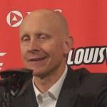 Louisville MBB Coach Chris Mack on WIN VS Syracuse