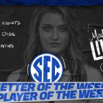 UK VB: Lilley SEC Player, Setter of Week; Curry, Stumler Also Win Awards