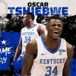 UK MBB Lands WVU Transfer Oscar Tshiebwe