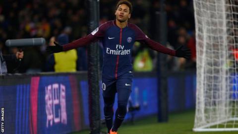 PSG forward Neymar would take 15m euros pay cut to rejoin Barcelona