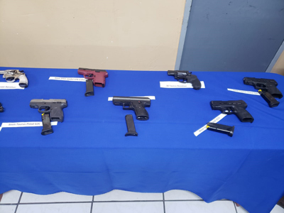 Police claim huge guns and ammunition seizure