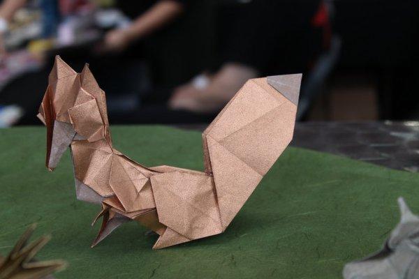 Origami_Fox_Japan
