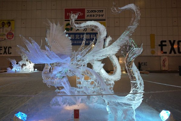 illuminated_ice_sculptures_heiwa_dori site