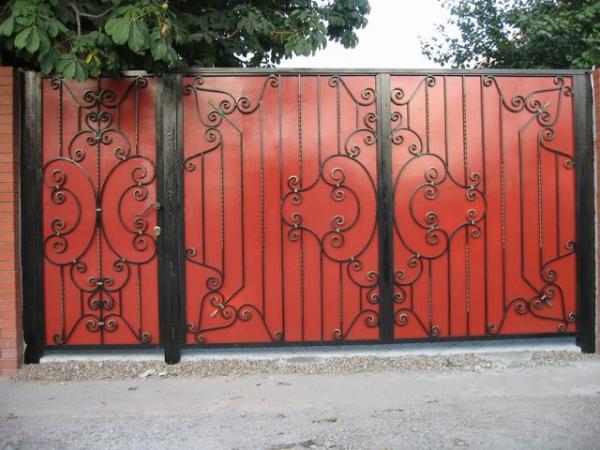 Эскиз для ковки ворота, калитки № 32   ворота, калитки ...