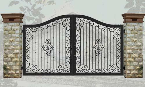 Эскиз для ковки ворота, калитки № 3   ворота, калитки ...