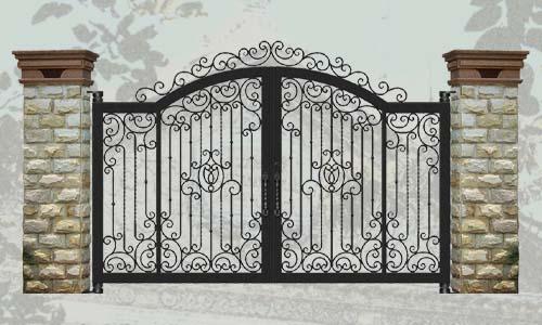 Эскиз для ковки ворота, калитки № 6   ворота, калитки ...