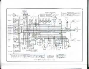 Wiring Diagram 1980 Kawasaki Twin  Wiring Diagram And Schematics