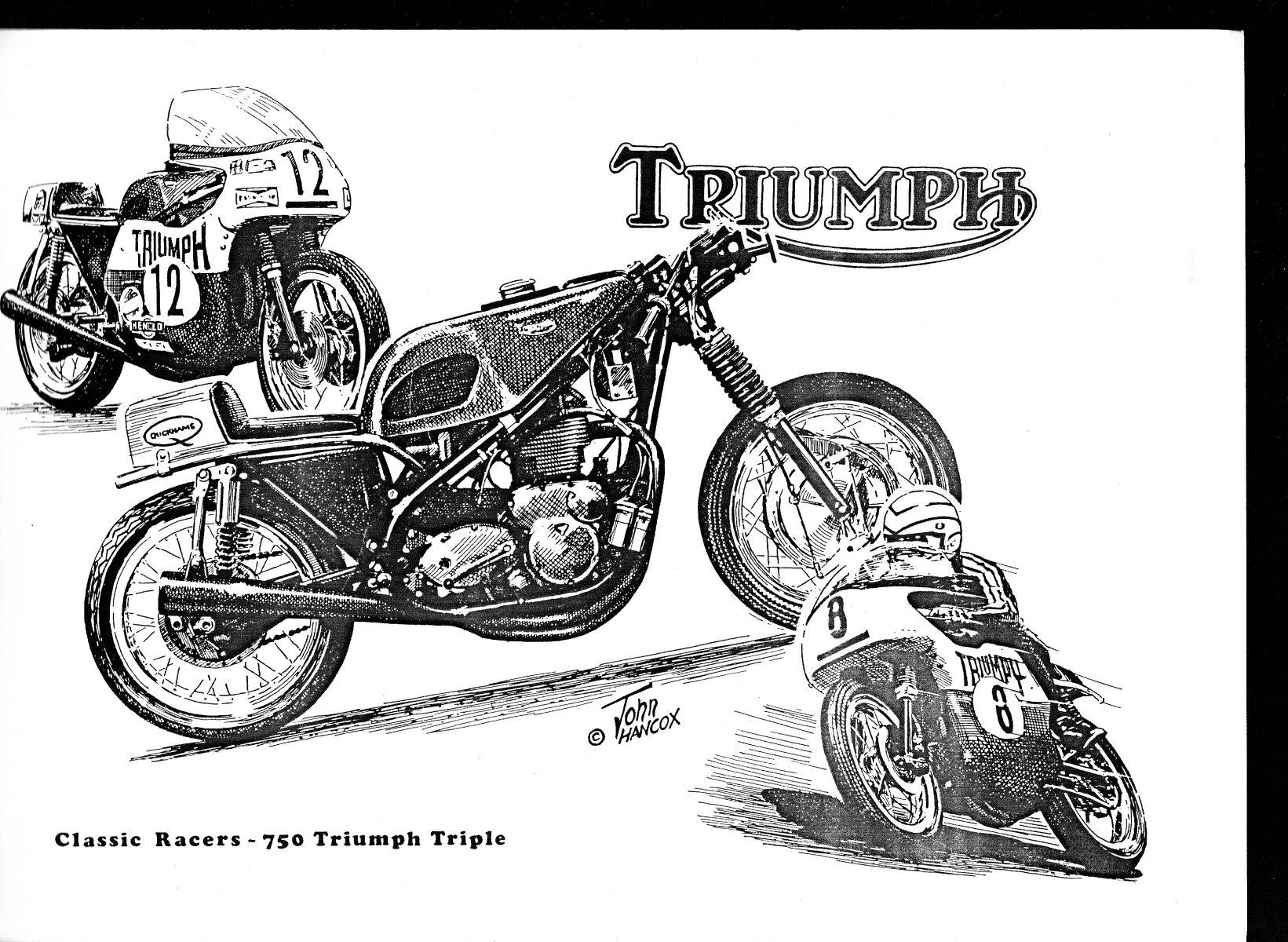 750 Triumph Triple