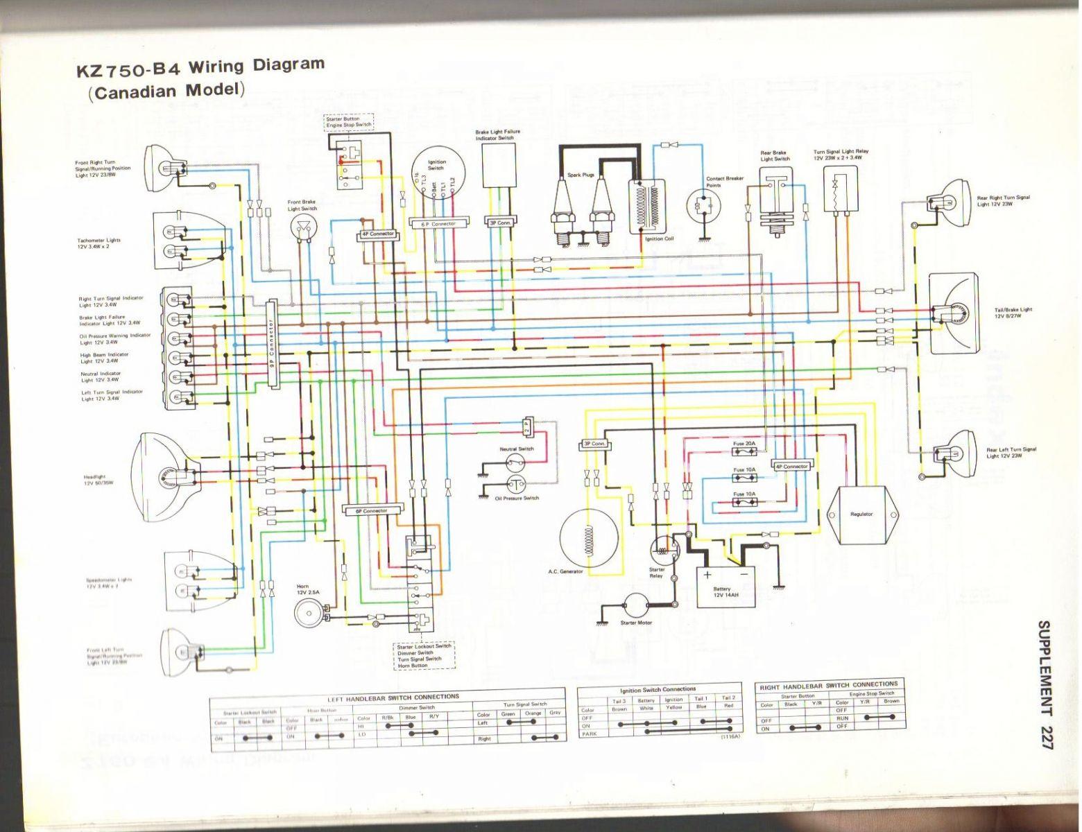 Wiring Diagrams Kawasaki Ninja 300r All Kind Of 650r Diagram Ke100 Electrical And Electronic Abs System Pump
