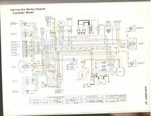 1976 Kz 750 Need help! wiring harness  KZRider Forum