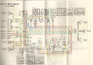 1975 Z1 900 20amp fuse blowes imediately  KZRider Forum  KZRider, KZ, Z1 & Z Motorcycle
