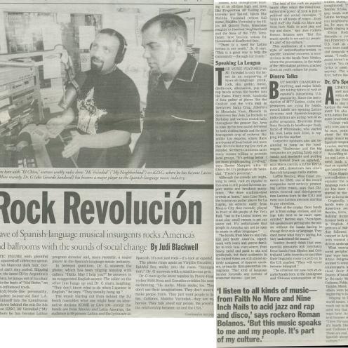 """Metro Santa Cruz - """"Rock Revolucion"""""""