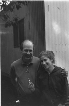 Broadcast Advisor Michael Bryant and former Station Manager Justine