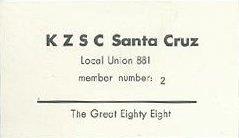"KZSC ""Union Card"" circa 2006"