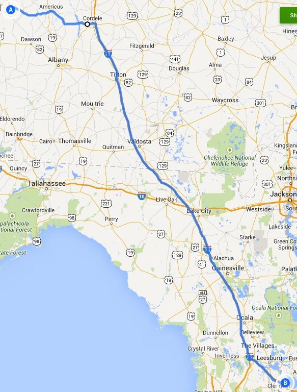 583x768 Map, in Alternative 4: Richland, Americus, Cordele, Ashburn and I-75 FERC to Sabal Trail, by John S. Quarterman, 14 September 2014