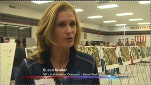 300x169 Susan Waller, in One Year After Sabal Trail Announces Pipeline Plans, Activists Begin Monthly Protests, by WCTV, 21 October 2014
