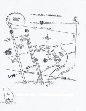 300x390 Map, in Alapahoochee Antique Tractor Show & Historic Farm Heritage Days, by Lake Park Chamber of Commerce, 24 October 2014