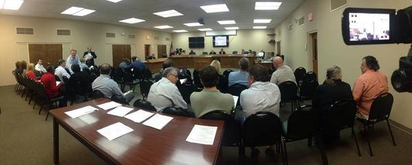 Moody AFB speaking about proposed Lowndes County MAZ ULDC text amendments