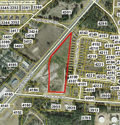 414x433 Parcel 0146A 420, in Bassford Properties, LLC, Bemiss Road and Guest Road, by John S. Quarterman, 22 February 2016