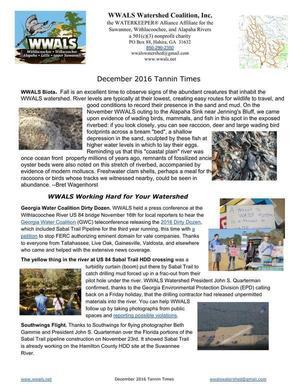 WWALS Biota, GWC DD, US 84 Sabal Trail HDD, Southwings