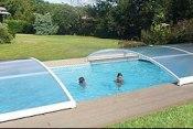 Abri piscine coulissant