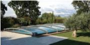 Abri bas de piscine Aladdin Carat