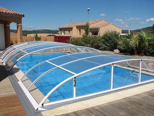 Abri de piscine Rondo de Sun Abri