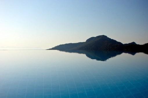 Piscine de l'Hotel Marmaris en Turquie