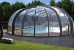 Abri piscine rotonde
