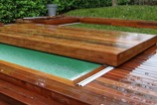 Terrasse mobile sur piscine Mooving Floor d'Octavia