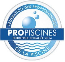 Propiscine, label de la fédération des professionnels de la Piscine