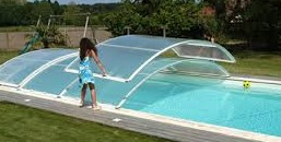 Abri piscine d'occasion