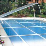Abrideal Primo : abri piscine extra plat