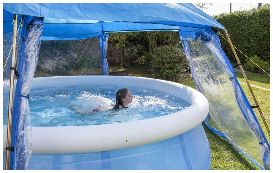 Dome pour piscine hors sol l 39 abri de piscine comment for Dome piscine
