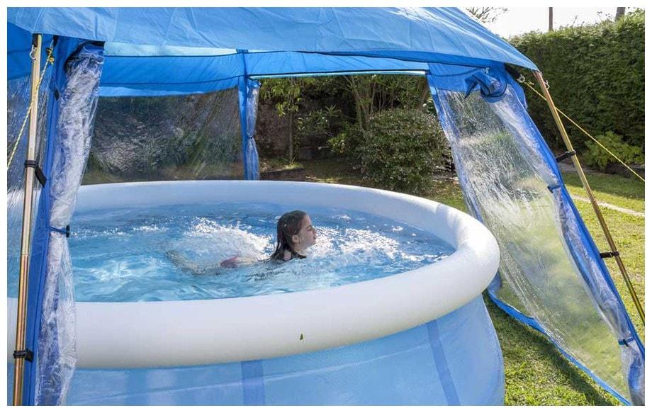 dome pour piscine hors sol l 39 abri de piscine comment choisir son prochain abri. Black Bedroom Furniture Sets. Home Design Ideas