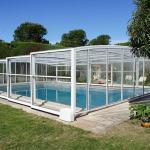 Abri piscine haut coulissant modèle Athènes de Bel Abri