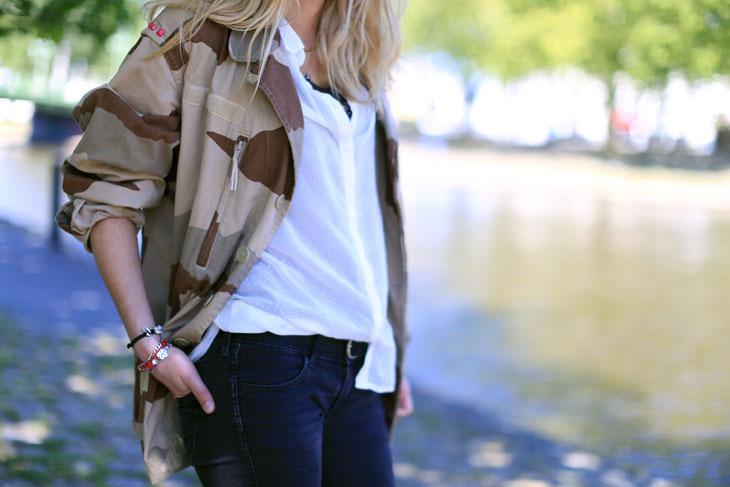 12_look_blog_mode_veste_militaire_vintage_jean_hm_escarpins_nude_valentino